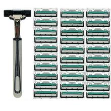 Manual Razor Safety razor Double Layer  Body Face Shaving Tool Blades For Standard Beard Shaver Trimmer