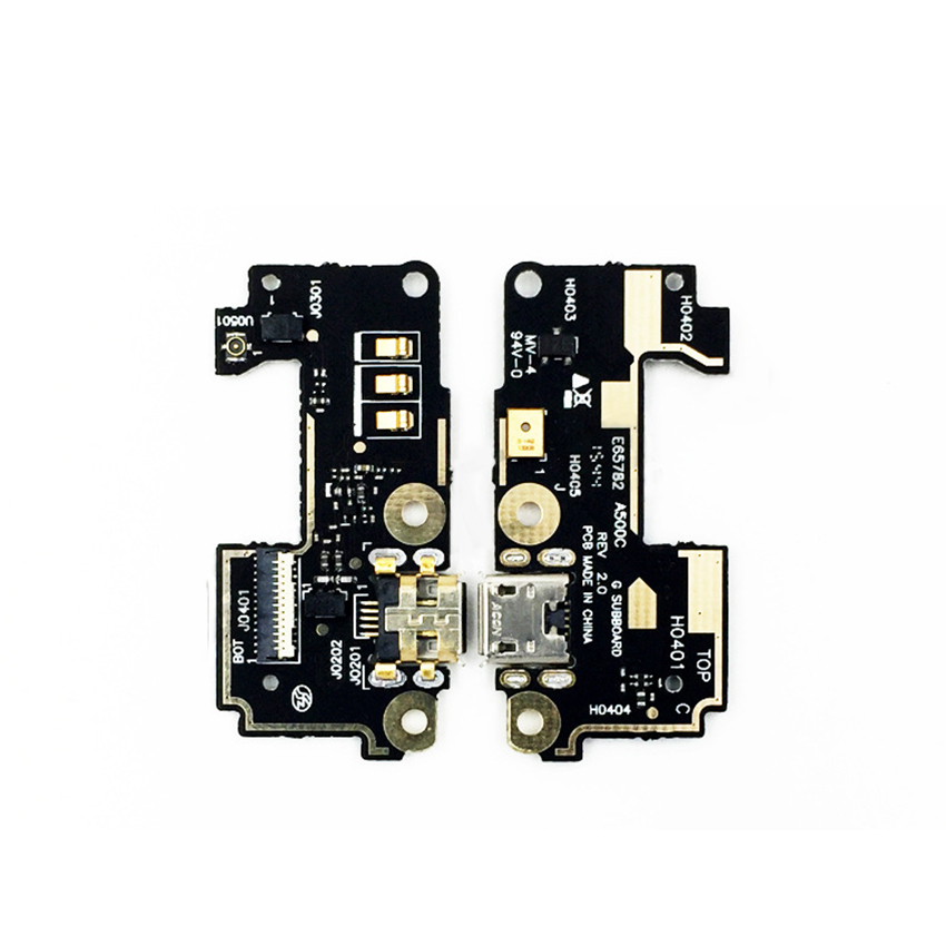 For Asus Zenfone 5 A500cg A501CG T00J USB Charging Mic Connector Board Flex Cable
