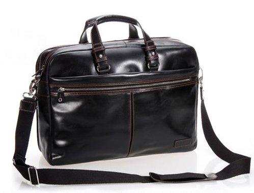 Модный мужской портфель из натуральной кожи, мужская деловая сумка, портфель для ноутбука, Офисная сумка, кожаный портфель, мужская сумка, коричневая