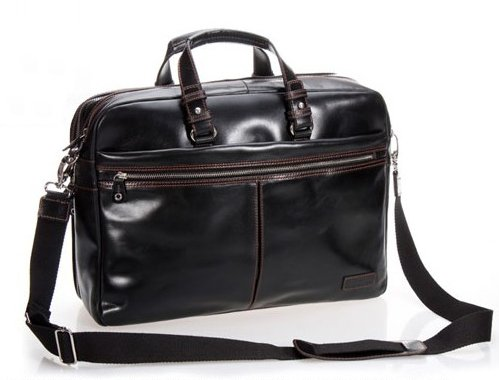 76da11fc9103 Luxury Men Leather Briefcase Men Business Bag Genuine Leather Briefcase  male 15