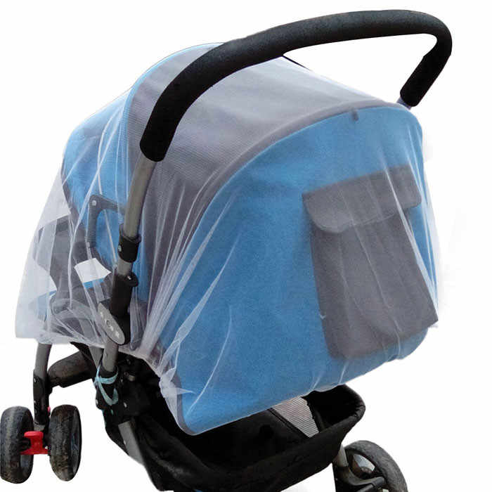 High quality Polyester mesh Summer Safe Baby Carriage Insect Full Cover Mosquito Net Baby Stroller Bed Home outdoor mosquito net
