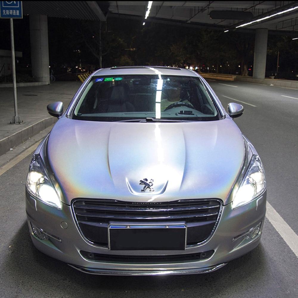 1.52x10 m couleur brillante bricolage carrosserie Films vinyle autocollant pour voiture décalque Film de dégagement d'air