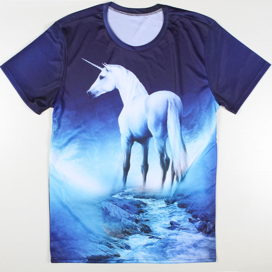 Design a t shirt horse - Novelty New Cat Swag Design T Shirts Men Deer Funny Face Tshirts Cool Horse Short Sleeve T Shirts Causal Camisetas Man In T Shirts From Men S Clothing
