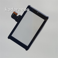 Kodaraeeo Touch Screen Digitizer Panel Front Glass Lens For ASUS Fonepad 7 ME372CG ME372 K00E Black