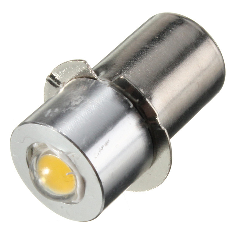 все цены на Newest P13.5S PR2 1W LED Flashlight For Interior Bike Torch Spot Lamp Bulb High Brightness 90Lumen DC3-18V Warm Pure White онлайн