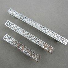 K9 Высокое качество хрусталя рукоятки двери шкафа нового ( cc. : 128 мм, Длина : 170 мм )