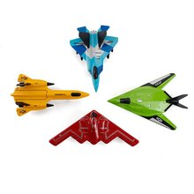 Children'S Educational Science Aviation Fighter Model Toy Mini Simulation Color Alloy Aircraft Model Set стоимость