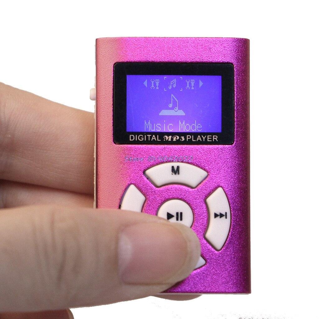 Schnelle Lieferung Mx-808 Mini Usb Aluminium Lcd Screen 32 Gb Micro Sd Tf Karte Digitale Musik Mp3 Player-38 #/ Cc Hifi-player Hifi-geräte