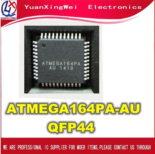 משלוח חינם 10pcs ATMEGA164PA AU ATMEGA164PA ATMEGA164 QFP44