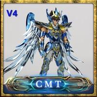 CMT Pegasus Seiya V4 Versiion Dios Cloth EX Metal armadura gran juguetes GT EX bronce Saint Seiya Myth Cloth Action figura