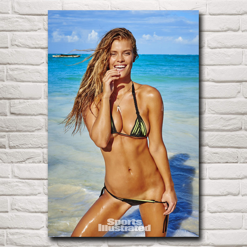 29a92f10731 Detail Feedback Questions about Nina Agdal Hot Sexy Bikini Swimsuit Girl  Super Model Art Silk Poster Decorative(12x18,16X24,20x30,24x36 inches)(Free  ...