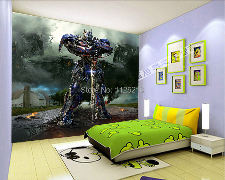 transformers wall murals promocja sklep dla promocyjnych online buy wholesale transformers wall murals from china