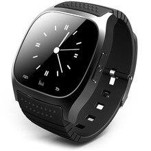 AUF LAGER M26 Smart Bluetooth Uhr Smartwatch M26 mit Led-anzeige Musik-player Schrittzähler für Android IOS PK DZ09 GT08