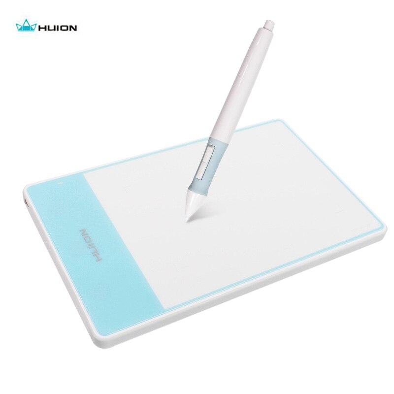 Huion 420 Fashion OSU Graphic Tablet Professional Signature Pad mini USB Smart Stylus Digital Drawing Tablet for Windows Mac OS
