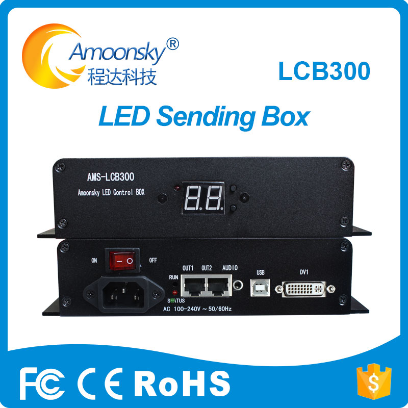 sending card box with linsn led sending card 802 for customized size screen dimension any pixels outdoor led screen