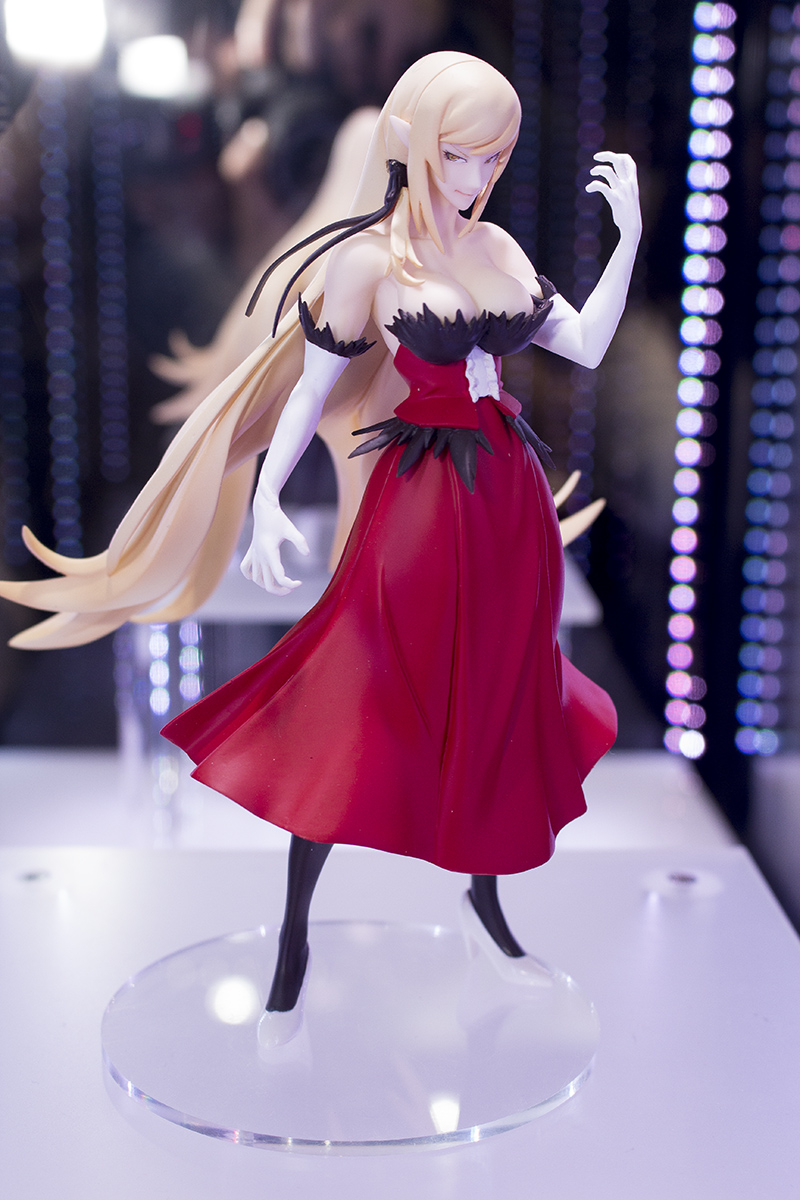 Oshino Shinobu Figure Kissshot Kiss-Shot Original Banpresto Senjougahara Hitagi SQ 18CM PVC Action Figure Model Gift купить