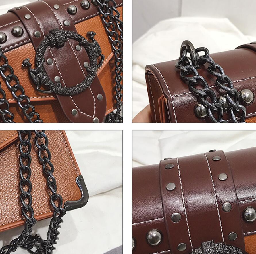 Euro Fashion Rivet Lock Bag 8