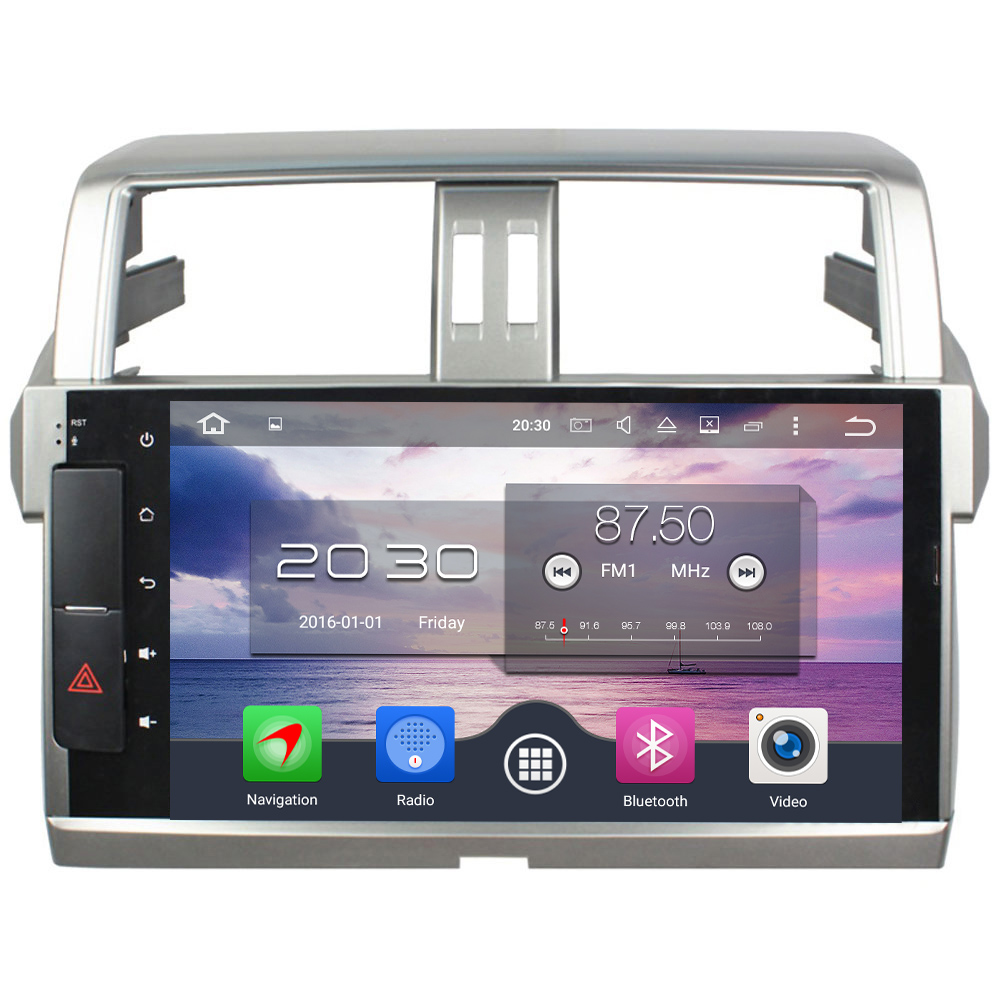 Android 6 0 1 Octa Core 4GB RAM 32GB 2 din Car dvd gps Car font
