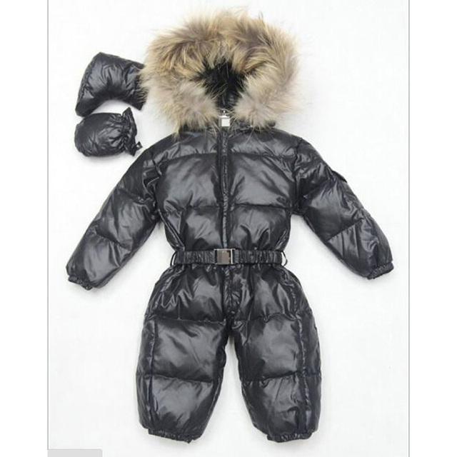 Novas roupas de bebê crianças inverno engrossar quente para baixo macacão macacão para 0-36 meses de idade do bebê pode ser aberto jumpsuits alta qulality