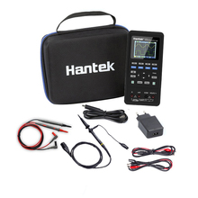 Hantek 3in1 dijital osiloskop dalga formu jeneratör el multimetre USB taşınabilir 2C42 2D42 2C72 2D72