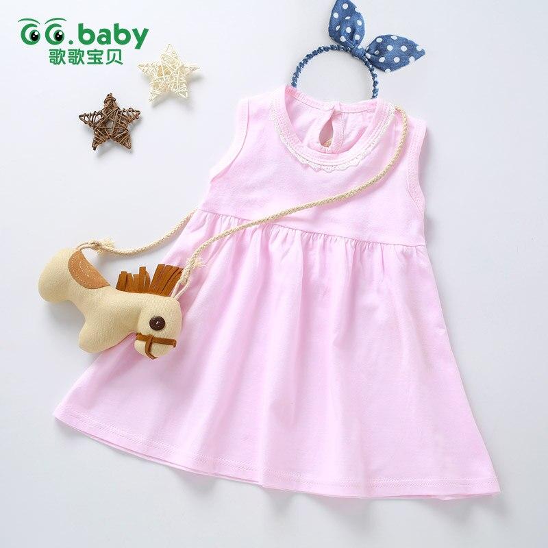 Lace Baby Girl Summer Princess Dress Shorts Toddler Newborn White Sleeveless Birthday Kids Tutu Dress For Girls Easter