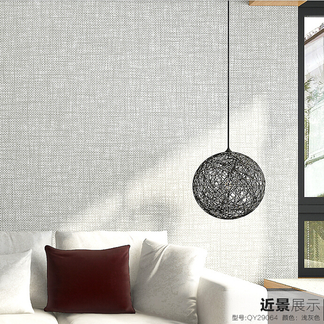 3d part culas de lino papel pintado moderno papel tapiz de for Papel pintado pared salon