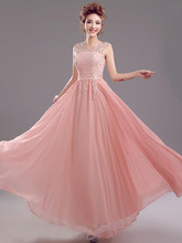 Elegant Bridesmaid Dresses 2015 For Wedding Party Bridal Gown A-Line Chiffon Customize Women Formal Occasion Vestidos de Noiva