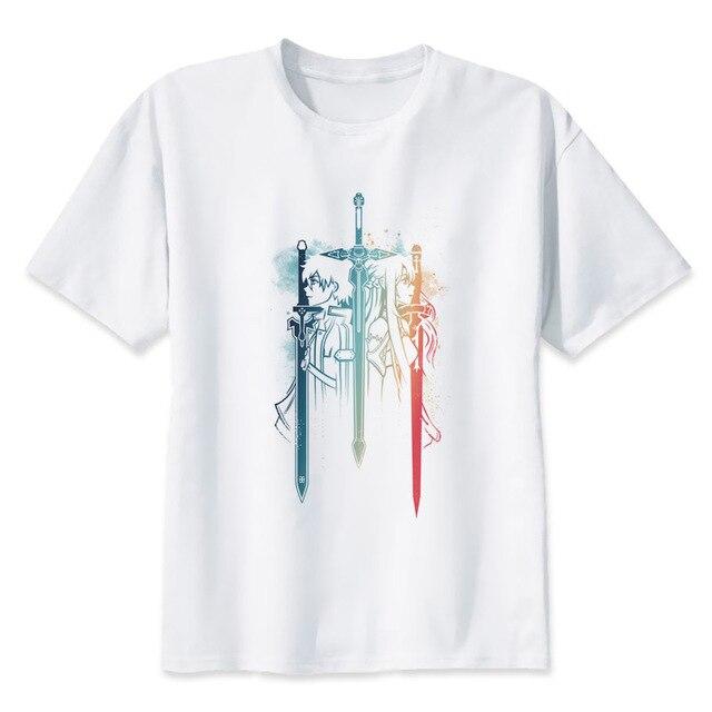 Design Shirts Online | Schwert Art Online T Shirt Hip Hop Stil Neue Original Design T Shirt