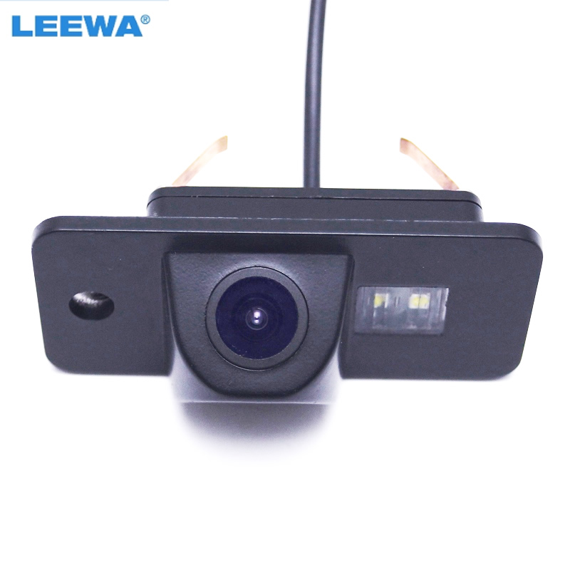 LEEWA HD Car Parking Rear View Camera for Audi A6 A3 Q7 S8 S5 A3 A8L Backup Reversing Camera #CA1148 hd a3