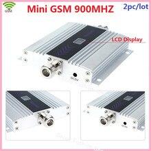 2 шт./лот новая модель ЖК-дисплей GSM 900 МГц мобильный телефон усилитель сигнала ретранслятора gsm repetidor celular усилитель сигнала