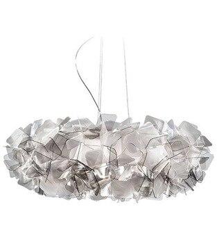 Nordic Designer Clizia Suspension Lampe Kunst Bunte Acryl Blume Led Licht Schlafzimmer Led Hängen Leuchten Kostenloser Versand