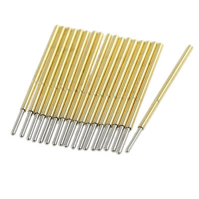 100 x Spring Loaded Round Tip Test Probe Pins 0.9mm Diameter 100 x p111 v 1 3mm dia 4 point crown tip spring test probe