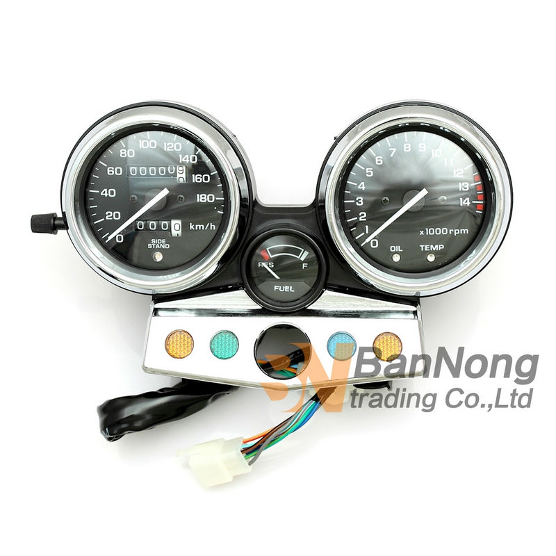 Motorcycle Gauges Cluster Speedometer Tachometer Meter Odometer Instrument Assembly For Honda CB400SF MC31 CB400 1995 1998