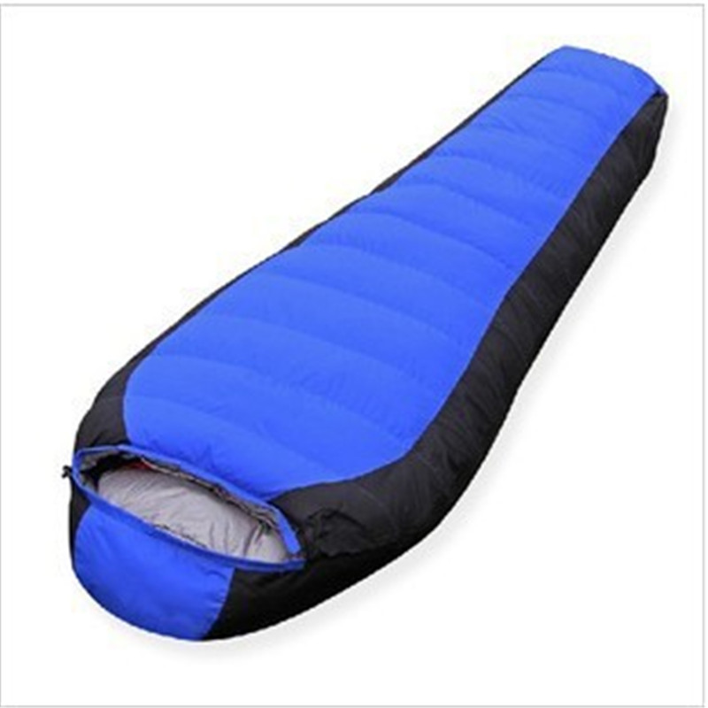 Hot Sale X5 Mummy Down Fill 400G 600G 800G Ultralight Duck Sleeping Bags High Quality For Camping Hiking Outdoor Sports nature portable multifuntional ultralight mini duck down mummy shape outdoor camping travel hiking sleeping bag 1100g 2 colors