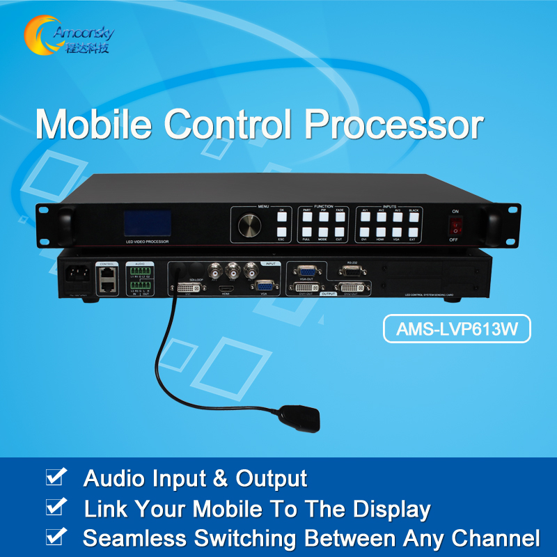 AMS-LVP613W add wifi module led display video processor mobile control processorAMS-LVP613W add wifi module led display video processor mobile control processor