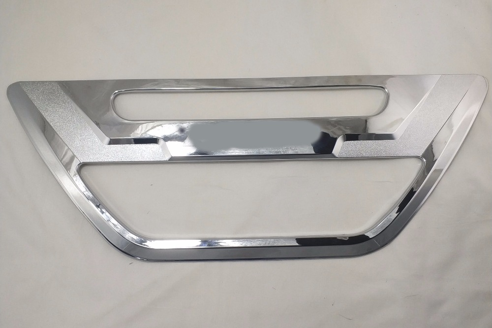 2016 2019 For Toyota Hilux Revo Accessories Chrome Surround Tail Gate Trim Cover For Toyota Hilux Decorative Parts 1pcs|Bumpers| |  - title=