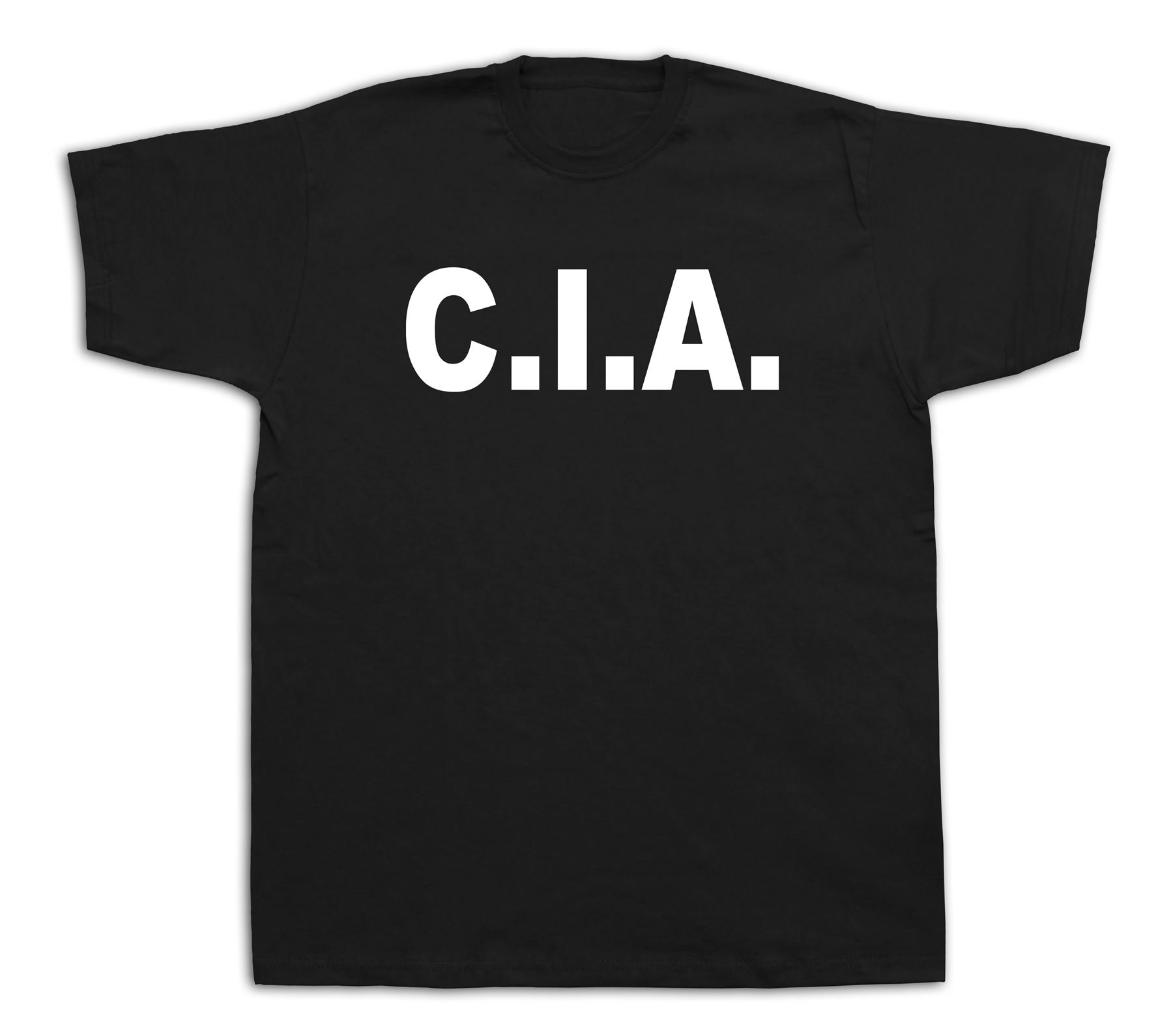 CIA Central Intelligence Agency Homeland T Shirt Agent Secret Cover T-Shirt Gift More Size and Colors Top Tee Animal ...