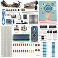 Nova sunfounder 19 projecst super starter kit v2.0 com mini usb nano v4.0 atmega328p 5 v micro controlador board para arduino