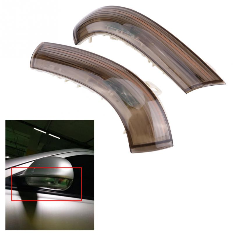 1 Pair Water Flowing LED Turn Light Signal Side Wing Rear View Mirror Light Lamp for