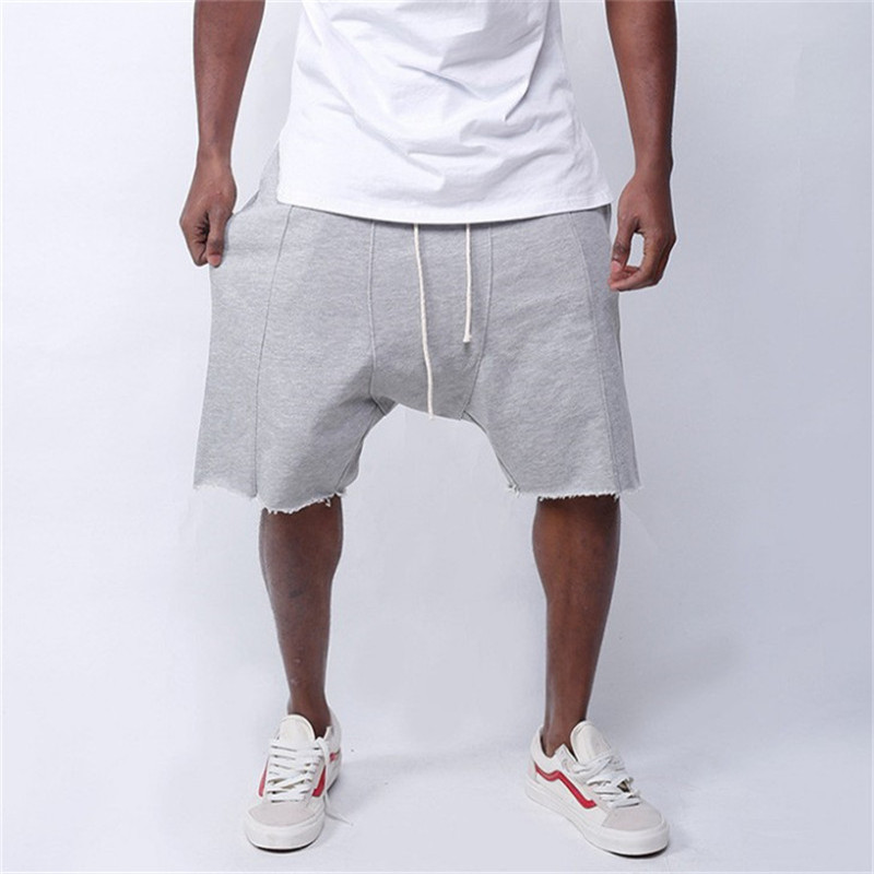 2019 New Mens Hip Hop Shorts Fitness Bodybuilding Cotton Man Summer Gyms Male Quick Dry Sportswear Different Jogger Interesting