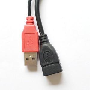 Image 3 - VKWIN USB 2.0 A femelle à 2 mâle double USB mâle répartiteur câble dextension pour disque dur supplémentaire USB alimentation