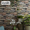 Vintage Rustic 3D Effect Brick Wallpaper Roll For The Wall Stone Live Room Wall Paper DE