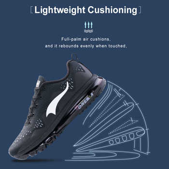 ONEMIX Sport Shoes Men White Running Shoes Summer Sneakers Light Walking Shoes Breathable Athletic Women Sport Jogging Shoes