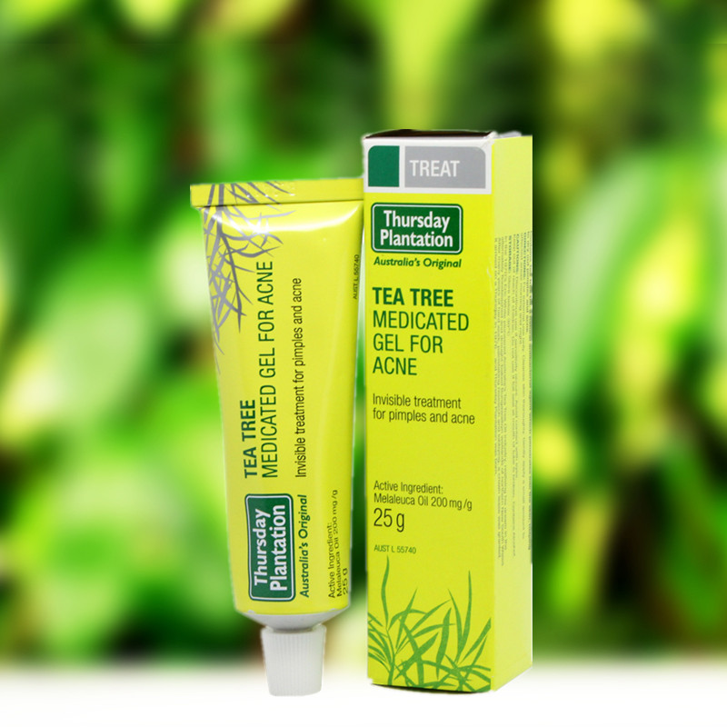 Australia Tea Tree Medicated Gel For Face Acne cream for dry skin, acne skin medication Acne Treatment Skin Care for blackheads australia high quality 100%pure tea tree oil 50ml acne treatment remove shrink pore antiseptic powerful acne remover