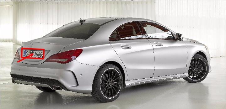 MB Mercedes Benz CLA Class C117 2013-2015