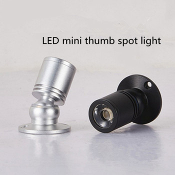 LED Mini Thumb Spot Light Jewelry Counter Specia 3W Reflector Lamp Cabinet Corner Lights Indoor Decorations Spotlight AC85-265V