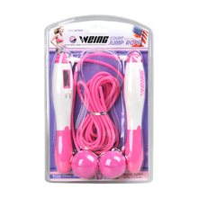 Weing Multifunctional no-rope Counting Jump Rope  Body Building Skipping Sports Fitness with Package