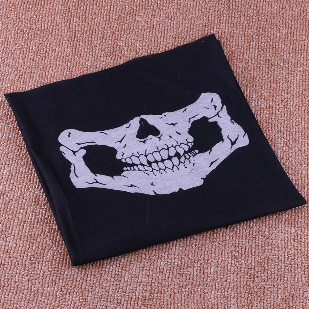 1 pcs Unisex Sport Bike Hats Halloween Skull face mask balaclava Skullies Bandana Paintball Motorcycle Helmet Neck 1 pcs airsoft adults cs field game skeleton warrior skull paintball mask