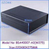 1pcs 80x220x275mm Industrial Case Electronics Enclosure Diy Iron Box For Electronics Box Enclosures Electronic Metal