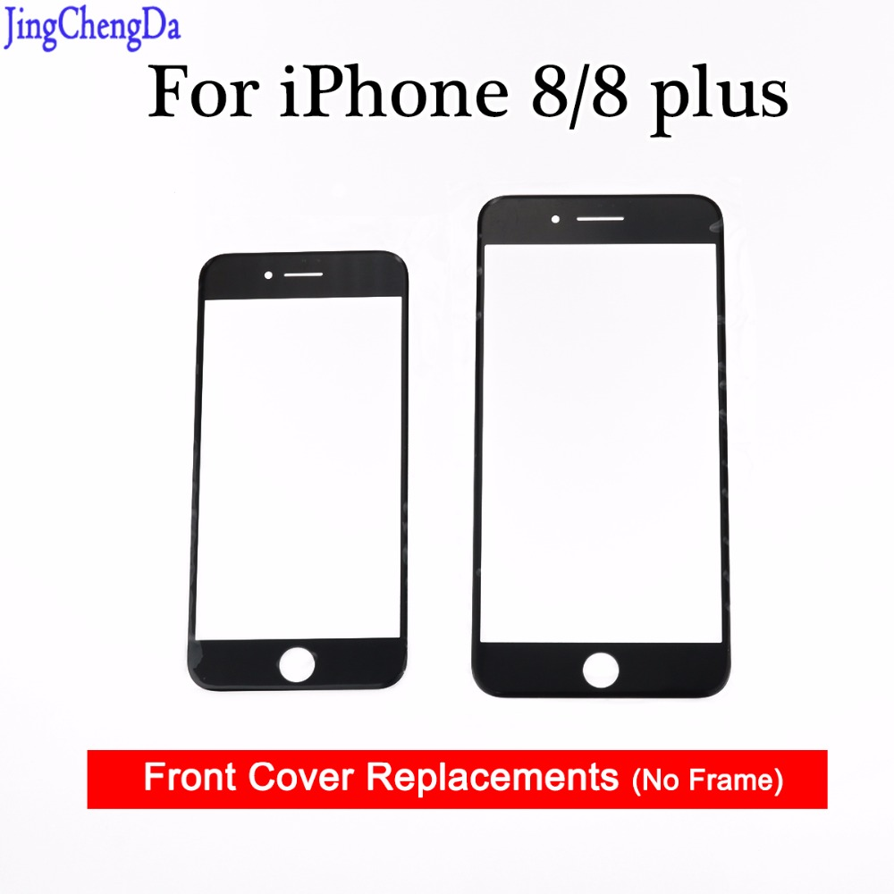 JCD For Apple for iPhone 8 8 Plus Front Outer Touch Screen Glass Lens Repair  Replacement Parts white Black 4.7 / 5.5|Mobile Phone Touch Panel| -  AliExpress